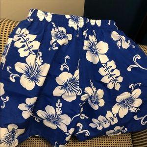 Other - NWT blue Hawaiian XL bathing suit